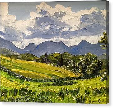 Clifden Landscape Ireland Canvas Print