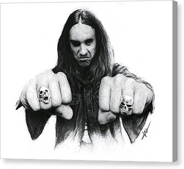 Cliff Burton Canvas Print