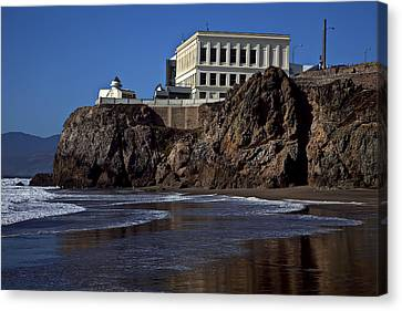 Cliff House San Francisco Canvas Print by Garry Gay