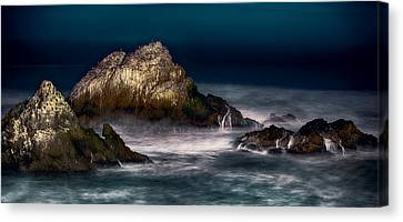 Canvas Print featuring the photograph Cliff House San Francisco Seal Rock by Steve Siri