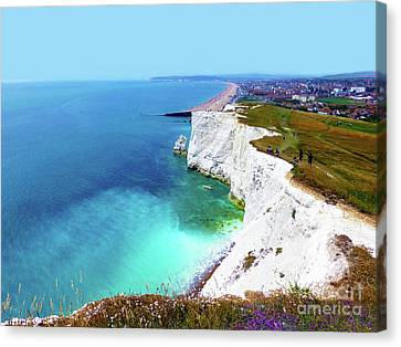 Canvas Print - Cliff Landscape by Francesca Mackenney