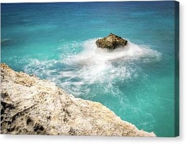 Cliff Views In Negril Canvas Print