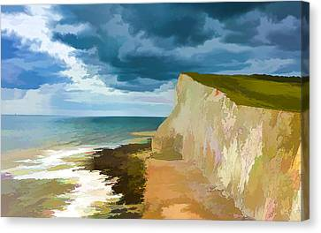Cliffs Canvas Print by Lanjee Chee
