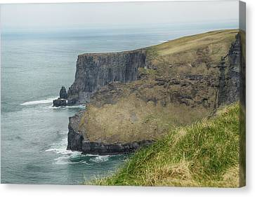 Canvas Print featuring the photograph Cliffs Of Moher 1 by Marie Leslie