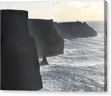 Cliffs Of Moher 1 Canvas Print by Mike McGlothlen