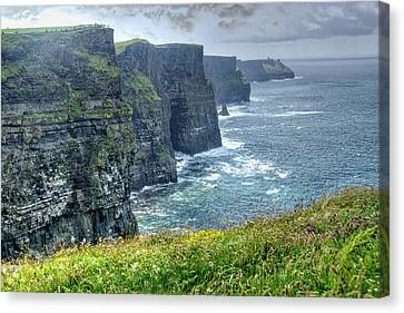 Cliffs Of Moher Canvas Print by Alan Toepfer