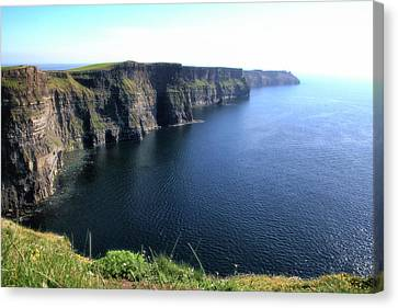 Cliffs Of Moher Canvas Print by Catherine Alfidi
