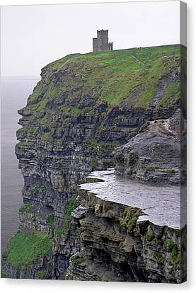 Cliffs Of Moher Ireland Canvas Print by Charles Harden
