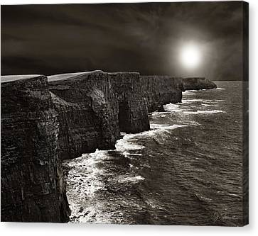 Cliffs Of Moher No. 2 Canvas Print by Joe Bonita