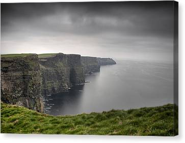 Cliffs Of Moher Canvas Print by Tim Drivas