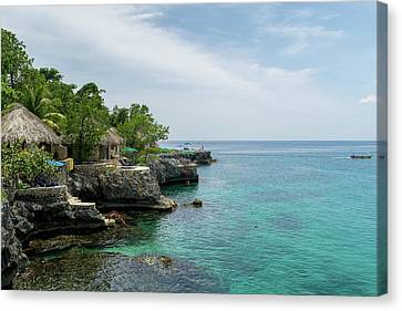 The Cliffs Of Negril Canvas Print