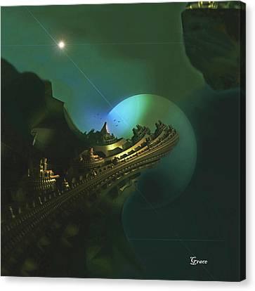 Cliffs Of Tarsa Canvas Print