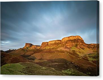 Cliffs Of Trotternish Canvas Print