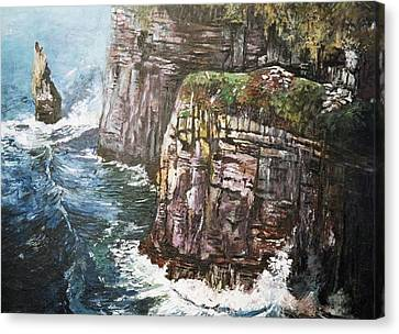 Cliffs  Canvas Print by Paul Weerasekera