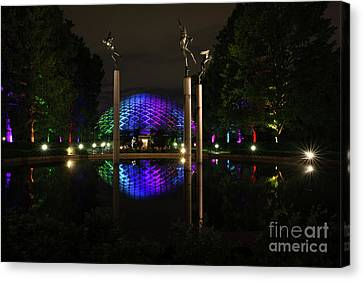 Canvas Print featuring the photograph Climatron 2017 by Andrea Silies
