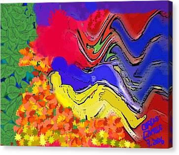 Climax  Canvas Print by Carlos Camus