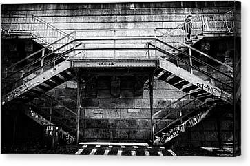 Climb The Stairs Canvas Print by M G Whittingham