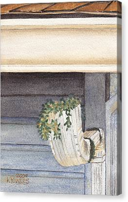 Climbing Out Of The Gutter Canvas Print by Ken Powers