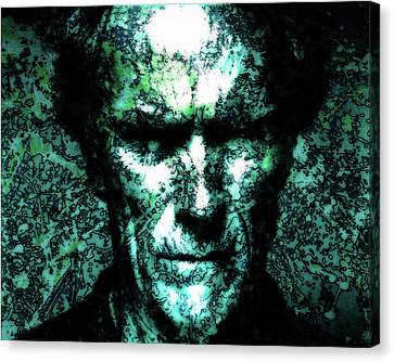 Clint Eastwood 2a Canvas Print