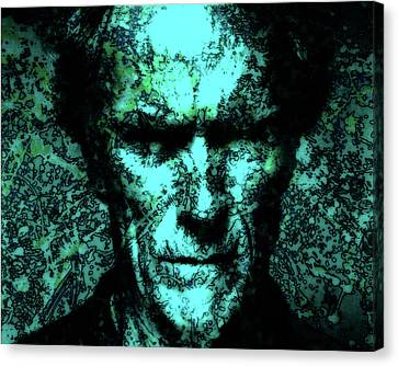 Clint Eastwood 2b Canvas Print