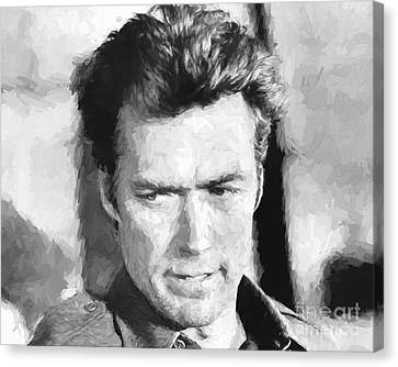 Clint Eastwood In Kelly's Heroes Canvas Print