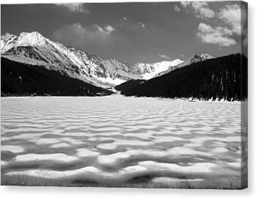Canvas Print featuring the photograph Clinton Lake by Brian Davis