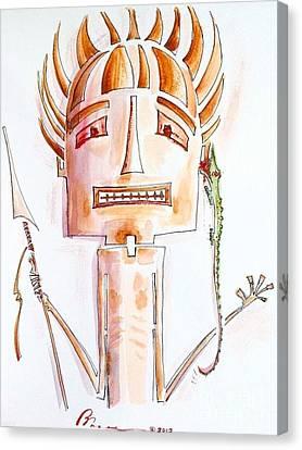 Tribal Clip On Canvas Print
