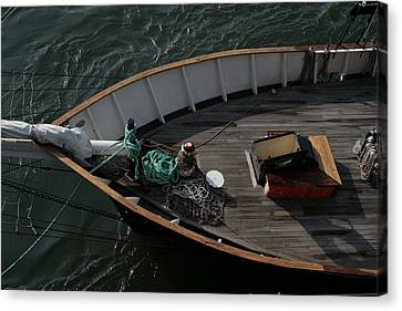 Clipper's Bow Canvas Print by Christopher Kirby