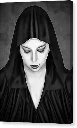Cloaked Beauty Canvas Print by Baden Bowen