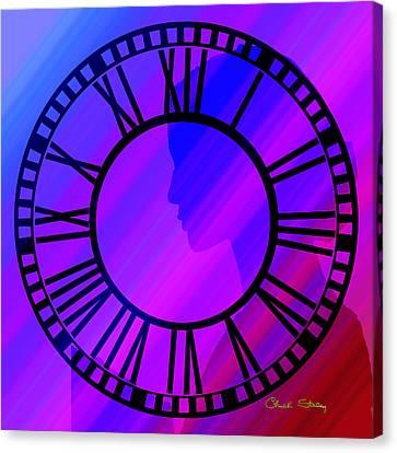Clock Face - Chuck Staley Canvas Print