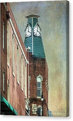 Clock Tower Downtown Statesville North Carolina Canvas Print