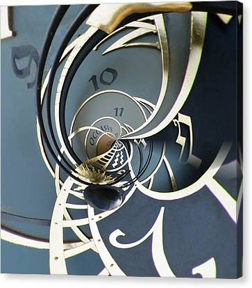 Clockface1  Canvas Print by Philip Openshaw