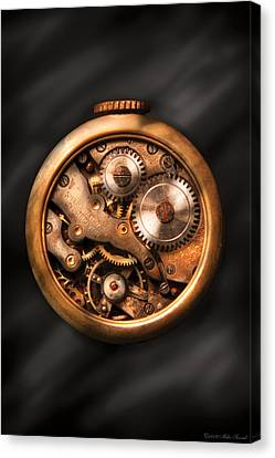 Clockmaker Canvas Print - Clockmaker - Gears by Mike Savad