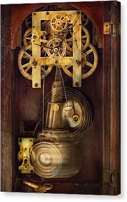 Clockmaker Canvas Print - Clockmaker - The Mechanism  by Mike Savad