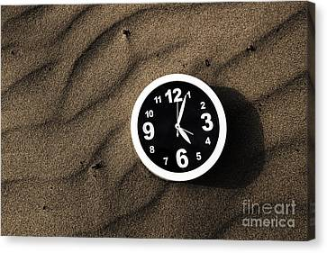Wavy Canvas Print - Clocks And Ripples by Jorgo Photography - Wall Art Gallery