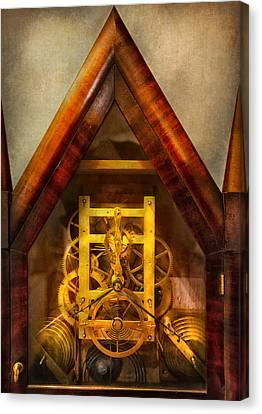 Clocksmith - Clockwork  Canvas Print by Mike Savad