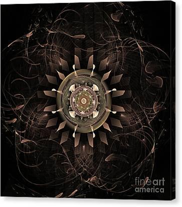 Clockwork Canvas Print by John Edwards