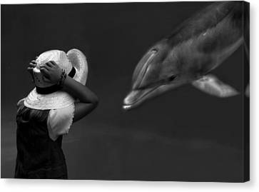 Close Encounter ... Canvas Print