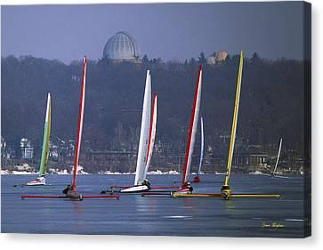 Lake Geneva Wisconsin Canvas Print - Close Encounters - Lake Geneva Wisconsin by Bruce Thompson