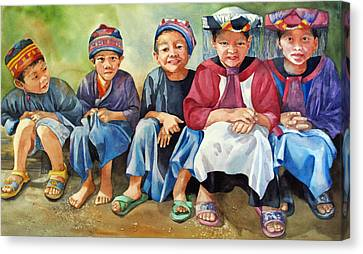 Close Thais Canvas Print