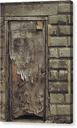 Close The Door Canvas Print by Odd Jeppesen