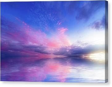 Close To Infinity Canvas Print by Philippe Sainte-Laudy