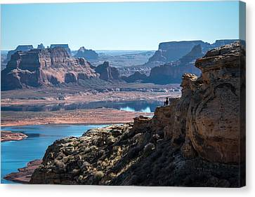 Close To The Edge Canvas Print