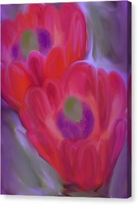 Close Up Beauty Canvas Print by Vickie Judkins