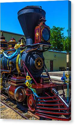 Close Up Glenbrook Train Canvas Print