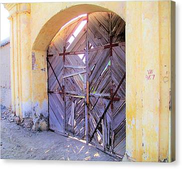 Closed, Permanently. Canvas Print
