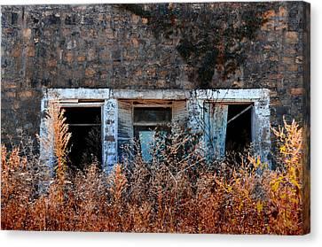 Closed 'til Spring Canvas Print by Lyle  Huisken