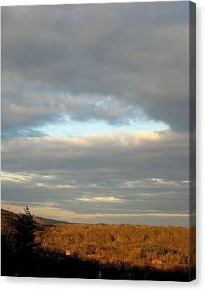 Cloud Break Canvas Print by Marcia Crispino