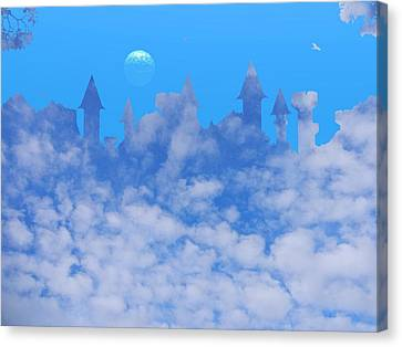Cloud Castle Canvas Print