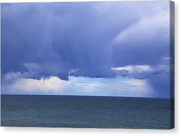 Canvas Print featuring the photograph Cloud Curtain by Nareeta Martin